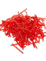* pcs Leurre souple Virgules Rouge 20 g Once mm pouce,Plastique souple Pêche d'appât