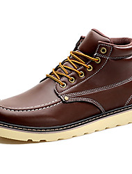Men's Boots Spring / Fall / Winter Cowboy / Western Boots / Combat Boots Synthetic Outdoor / Casual Black / Brown