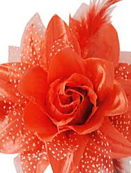 5pcs Rosen für Halloween-Kostüm-Partei zufällige Farbe