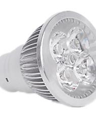 4W GU10 Spot LED MR16 4LED LED Haute Puissance 400LM lm Blanc Chaud / Blanc Froid Gradable / Décorative V 1 pièce