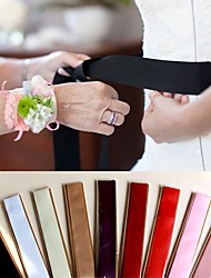 9 Color Optional Simple Waist Decoration Ribbon Bride Wedding Dress Belt Long DIY Bow Girdle