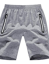 Running Shorts Men's Quick Dry / Soft / Comfortable Polyester Exercise & Fitness / Racing / Basketball Sports Stretchy / High Elasticity