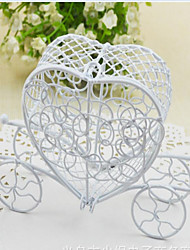 1 Piece/Set Favor Holder-Heart-shaped Iron(nickel plated) Favor Boxes Non-personalised