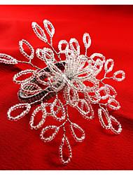 Rectangulaire Avec motifs / Géométrique / Vacances Ronds de serviettes , Verre MatérielHôtel Dining Table / Décoration Wedding Party /