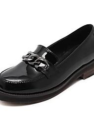 Damen-Loafers & Slip-Ons-Lässig-PUOthers-Schwarz