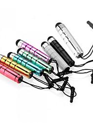 szkinston bala pluma capacitiva táctil de 8-en-1 con la pluma contra la oscuridad de enchufe metales capacitancia para el iPhone / iPod /