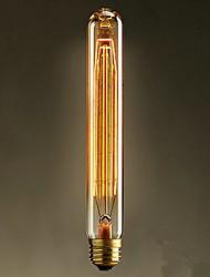 e27 40w T225 loja de chá em edison vitro retro lâmpadas decorativas