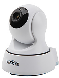 VESKYS T4 720P 1.0MP Wi-Fi Security IP Camera(Day Night / Motion Detection / Remote Access / IR-cut / Plug and play)