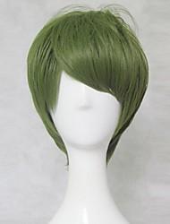 баскетбол новый Куроко midorima Синтаро короткий оливковый зеленый парик косплей 30см короткий парик партии