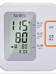 Parte Superior do Braço Monitor de Pressão Arterial Automático Apresentação LCD / Apresentação da Hora / Desligamento AutomáticoBateria