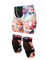 Knee Brace / Hip & Waist Support Ski Protective Gear Protective Skiing / Skating / Snowboarding Unisex Polyester Pink / Light Gray / Black