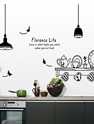 Fashion Wall Stickers Plane Wall Stickers Decorative Wall Stickers,Vinyl Material Home Decoration Wall Decal