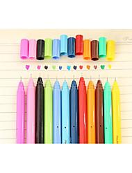 Gel Pen Stylo Stylos gel Stylo,Plastique Baril Couleurs d'encre For Fournitures scolaires Fournitures de bureau Paquet