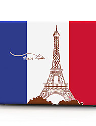 drapeau de France motif macbook boîtier de l'ordinateur pour macbook air11 / 13 pro13 / 15 pro avec retina13 / 15 macbook12