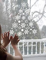 Noël Vacances Stickers muraux Autocollants avion Miroirs Muraux Autocollants Autocollants muraux décoratifs Autocollants de frigo Matériel