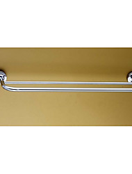 Stainless Steel/Double Bar Towel Rack