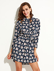 Women's Loose with Belt Two WearWM Sexy Dresses