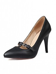 Women's Heels Spring Summer Fall Winter Comfort Novelty Patent Leather Leatherette Wedding Office & Career Dress Casual Party & Evening