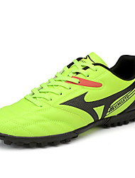 Soccer Shoes Men's Anti-Slip Anti-Shake/Damping Breathable Wearproof Outdoor Low-Top PVC Leather Soccer/Football