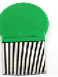 Cat Dog Grooming Health Care Cleaning Comb Pet Grooming Supplies Casual/Daily Yellow Red Green Blue