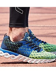 Men's Athletic Shoes Comfort Denim Casual Blue / Gray / Royal Blue / Orange