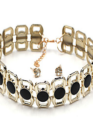 Necklace Jewelry Wedding Unique Design / Animal Design Alloy Women 1pc Gift Black and White
