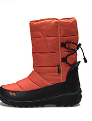 TnTn Men's / Women's Snow sports Mid-Calf Boots Winter Anti-Slip / Waterproof / Breathable Shoes Orange / Burgundy