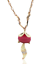 Necklace Imitation Opal Jewelry Wedding / Party / Daily / Casual Animal Design Alloy Gold 1pc Gift