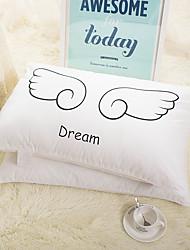 хлопок супер мягкие плюшевые подушки перо подушки отель принадлежности W48 * размер l74cm