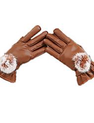 утолщенные сенсорный экран перчатки (G27-коричневый)