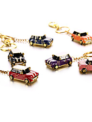 Crystal Metal Car with Keychain USB 2.0 Flash Pendrive U Disk 32GB