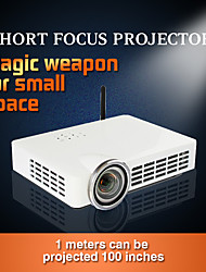 DLP-100 DLP WXGA (1280x800) Proyector,LED 3000 HD Wireless 3D DLP Proyector