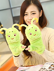 Women's Little Bugs Lamb Fur Wrist Length Fingertips Cute/ Party/ Casual Winter Fashion Warm Gloves