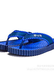 Men's Slippers & Flip-Flops Comfort PVC Casual Blue Green Red