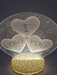 New Arrival Customized Design 3D Led Table Night Light