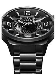 Men's Sport Watch Military Watch Dress Watch Fashion Watch Wrist watch Quartz Japanese Quartz Calendar Stainless Steel BandVintage Cool