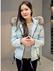 Sign like the new fall and winter clothes ovo collar thickening wild fashion trend of women short paragraph wool jacket mushroom