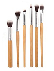 6 pcs Makeup Brushes Set Professional Blush/Foundation/ Eye Shadow Brush