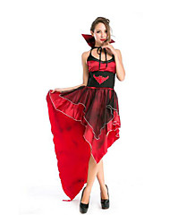 Festival/Holiday Halloween Costumes Black & Red Solid Skirt / Belt Halloween / Christmas / Carnival Female