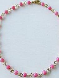 Femme Bracelet de cheville/Bracelet Perle Simple Style Européen Fait à la main Bijoux Pour Mariage