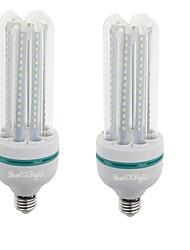 24W E26/E27 Lâmpadas Espiga T 120 SMD 2835 2000 lm Branco Quente / Branco Frio Decorativa V 2 pçs