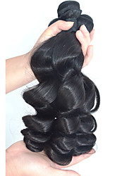 10-28inch Loose Wave Hair Weaves Natural Black Remy Hair Weaves
