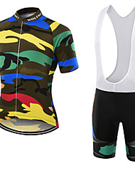 WOLFKEI Summer Cycling Jersey Short Sleeves BIB Shorts Ropa Ciclismo Cycling Clothing Suits #32