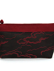 Makeup Storage Cosmetic Bag / Makeup Storage Nylon Others 21*12.5*3 Red