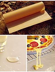 BBQ Grill Mats Oven Baking Nonstick High Temperature Resistant Cloth Sheet  Linoleum Reuse Oil Paper(Random Color)