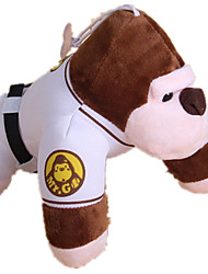 Dog Toy Pet Toys Plush Toy Durable White Textile