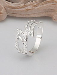 Jewelry Women Wing Silver Ring Sterling Silver Rings Statement Rings