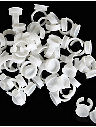 100PCS Permanent Makeup Plastic Ring/Ink Tattoo Cup For Tattoo