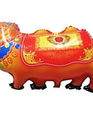 Balões Decoração Para Festas Animal alumínio Laranja 5 a 7 Anos 8 a 13 Anos