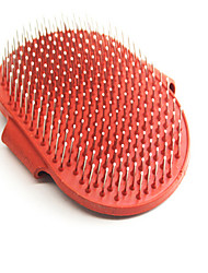 Cat / Dog Grooming / Health Care / Cleaning Comb Pet Grooming Supplies Casual/Daily Red Leather